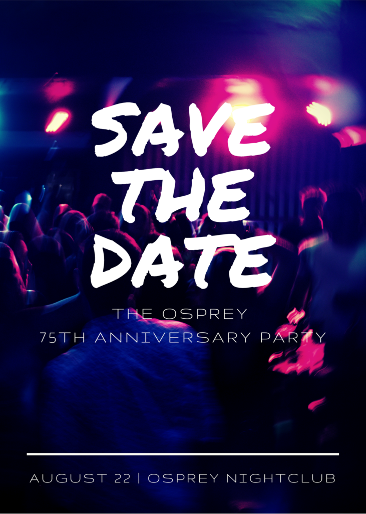 75th Anniversary Party August 22, 2021